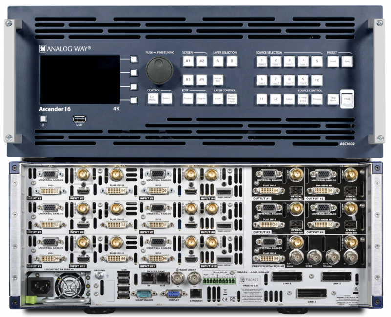 Analog Way Ascender 32 (live core)