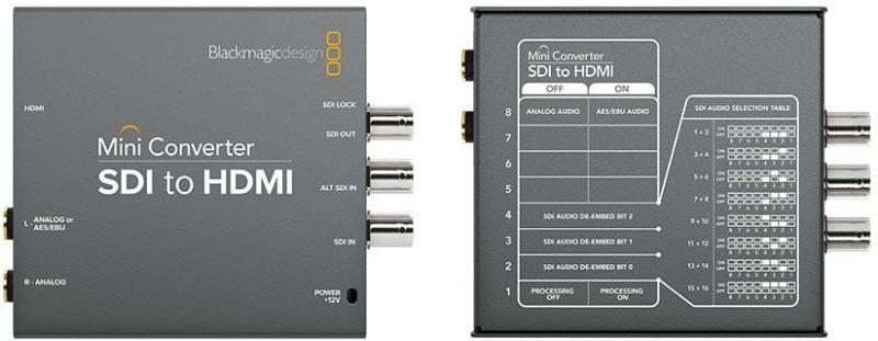 Blackmagic SDI – HDMI Converter