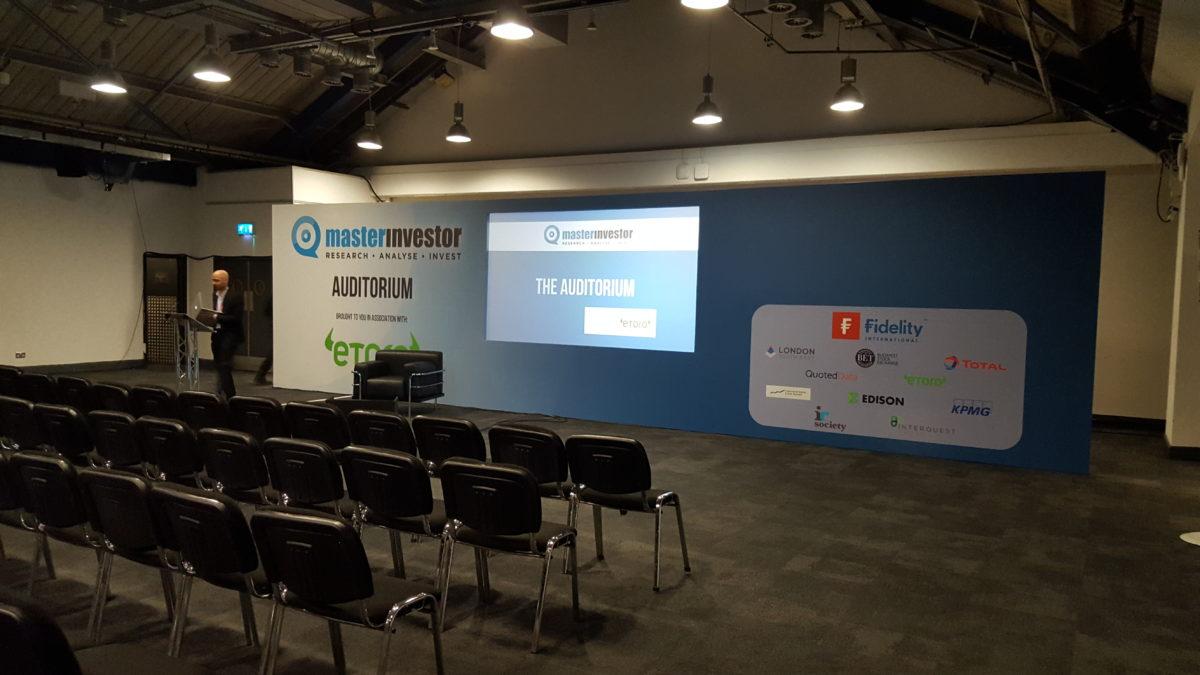 Corporate live event setup